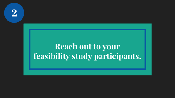 DS_Aspire_Reach out to your feasibility study participants